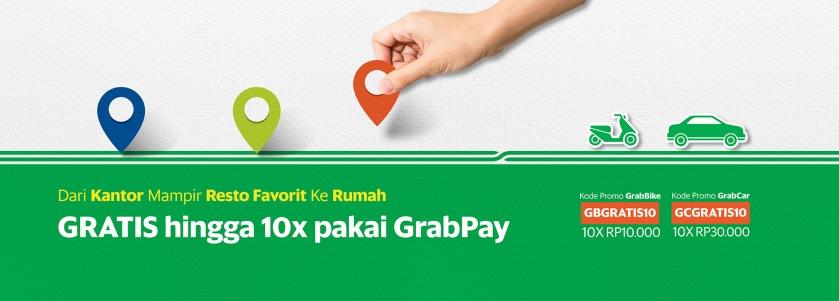 grab gratis dengan gpay